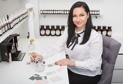 Вероника Бруховецкая-парфюмерное ателье Аромаобраз