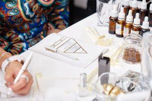 Формирование парфюмерных качеств