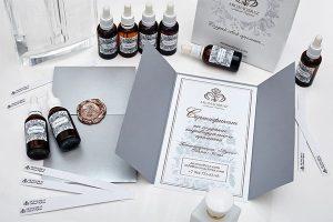 Сертификат на создание индивидуальных духов