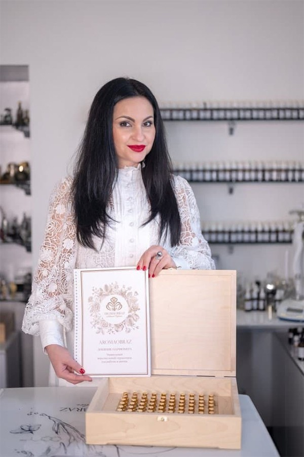 Вероника Бруховецкая парфюмер